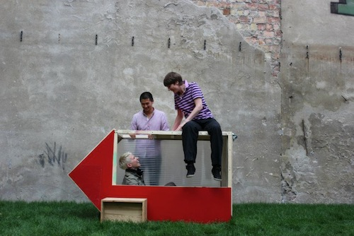 berlin based architect and founder of of hartz iv mobel van bo le mentzel has created the smallest house in the world called the one sqm house