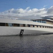 Steve Job's Yacht Makes First Appearance