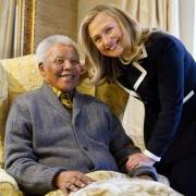 World Leaders Meet Mandela (photos)