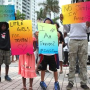'The People' protest nationwide in honor of Trayvon Martin