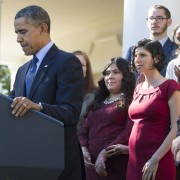 President Obama Stops Speech To Save Pregnant Woman From Fainting